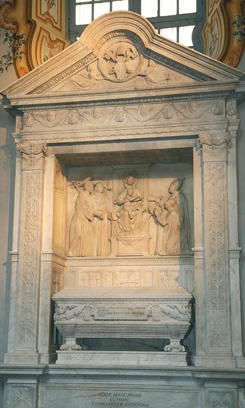 Cappella Sistina di Savona - Mausoleo