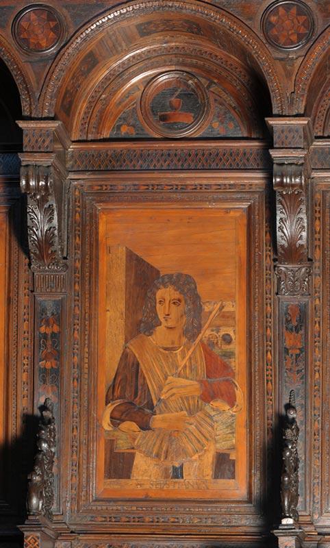 Coro Ligneo Cattedrale Savona - Particolari