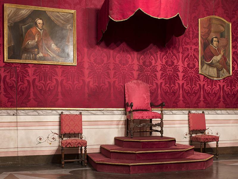 Percorso Papa PIO VII prigioniero a Savona, Tappa 1: Palazzo vescovile e le sale di Pio VII