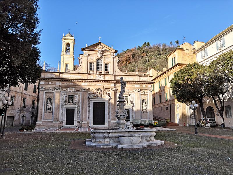 Percorso Papa PIO VII prigioniero a Savona, Tappa 3: Basilica della Madonna di Misericordia