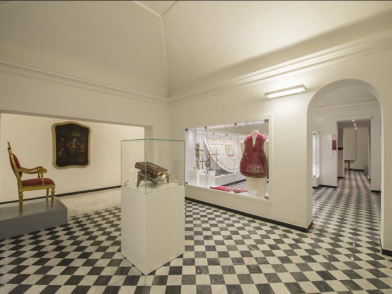 Percorso Papa PIO VII prigioniero a Savona, Tappa 4: Museo del Tesoro