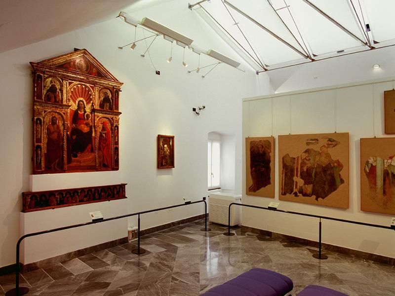Percorso Papi della Rovere, Tappa 3: Pinacoteca civica