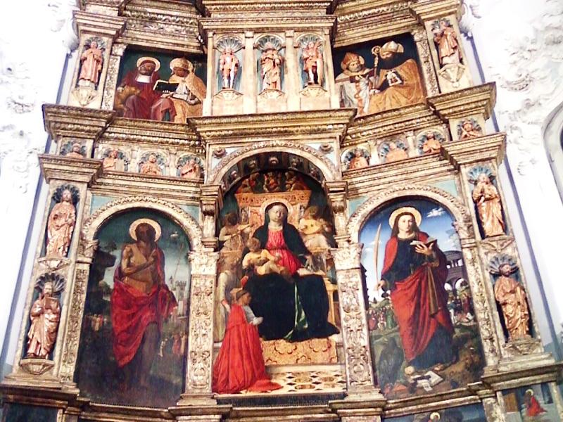 Percorso Papi della Rovere, Tappa 4: Oratorio N.S. di Castello