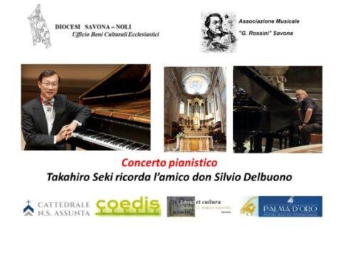 Concerto pianistico: Takahiro Seki in memoria dell'amico don Silvio Del Buono